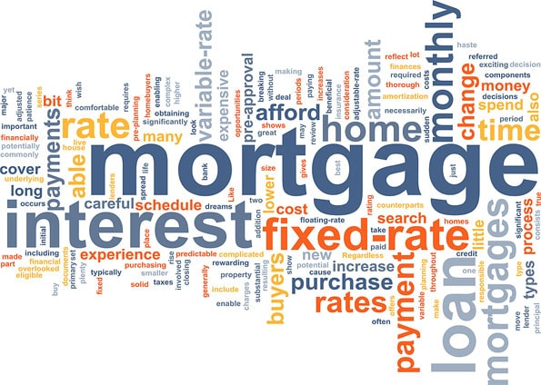 mortgage broker wood home